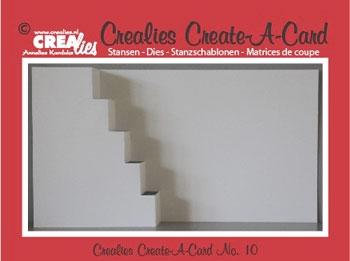 Crealies Die Create A card nr 10 CCAC10